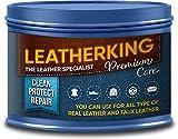 LeatherKing - Natürliche Anti-Aging Lederpflege, 350ml...